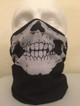 Skull Multifunctional Half Face Mask